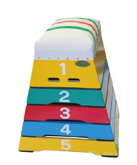 カラー跳び箱 小型5段(T-25)
